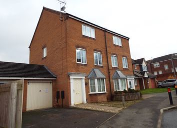 Thumbnail 4 bed semi-detached house for sale in Lowry Close, Corby