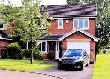 Thumbnail 4 bed detached house for sale in Brooklawns, Much Hoole, Preston