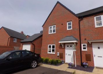 Thumbnail 3 bed semi-detached house for sale in Rideau Road, Meon Vale, Stratford-Upon-Avon
