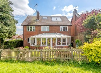 Thumbnail 5 bed detached house for sale in Adams Close, North Warnborough, Hook, Hampshire
