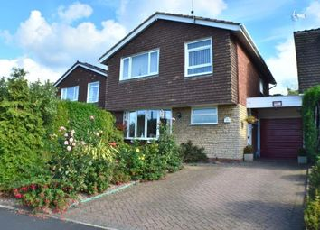 Thumbnail 3 bed detached house for sale in Dawes Close, Armitage, Near Lichfield, Staffordshire