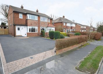 Thumbnail 3 bedroom semi-detached house for sale in Grove Farm Crescent, Cookridge, Leeds, West Yorkshire