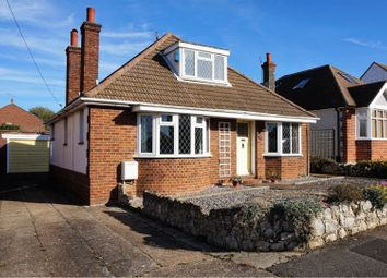 Thumbnail 3 bed detached bungalow for sale in Seymour Avenue, Whitstable