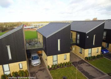 Thumbnail 2 bed link-detached house for sale in Sparrowhawk Way, New Hall, Harlow, Essex