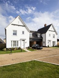 Thumbnail 3 bed link-detached house for sale in Birch Gate, Silfield Road, Wymondham, Norfolk