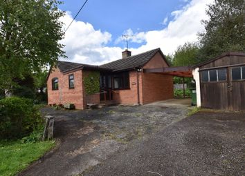 Thumbnail 3 bed detached bungalow for sale in Wyson, Brimfield, Ludlow
