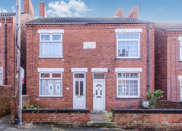 Thumbnail 2 bed semi-detached house for sale in Coronation Street, Whitwell, Worksop
