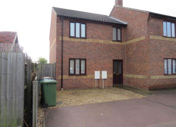 Thumbnail 3 bed end terrace house to rent in New Drove, Wisbech