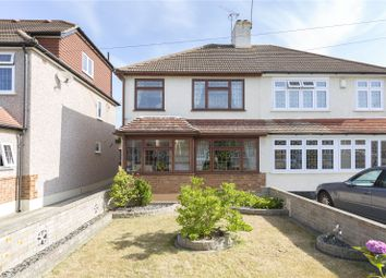 Thumbnail 3 bed semi-detached house for sale in Nightingale Avenue, Upminster