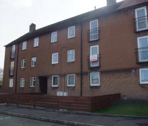 Thumbnail 2 bed flat to rent in Muirton Terrace, Kelty