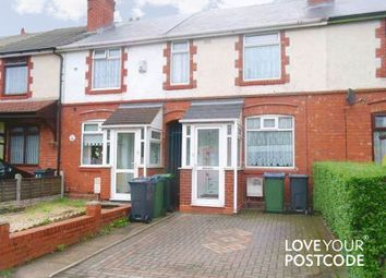 Thumbnail 3 bed terraced house to rent in Greets Green Road, West Bromwich