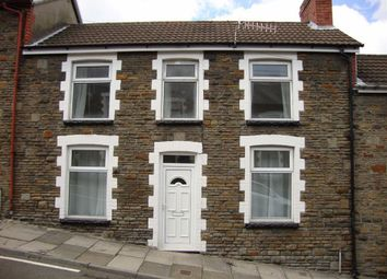 Thumbnail 3 bed terraced house to rent in Danygraig Street, Graig, Pontypridd