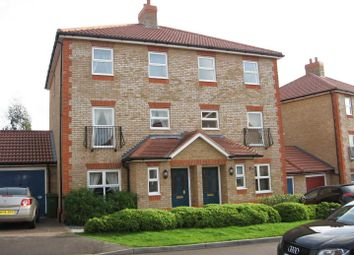 Thumbnail 4 bed town house to rent in Claremont Crescent, Newbury