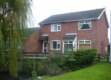 Thumbnail 2 bed property to rent in Central Crescent, Hethersett, Norwich