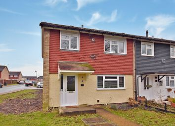 Thumbnail 3 bed end terrace house for sale in Speldhurst Close, Kingsnorth, Ashford
