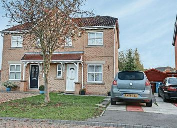 Thumbnail 3 bedroom semi-detached house for sale in Bridgegate Drive, Hull