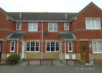 Thumbnail 2 bed terraced house to rent in Hague Close, Carlton Colville, Lowestoft
