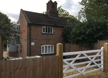 Thumbnail 3 bed semi-detached house for sale in 1 Rosemary Cottages, Flordon Road, Newton Flotman, Norwich, Norfolk