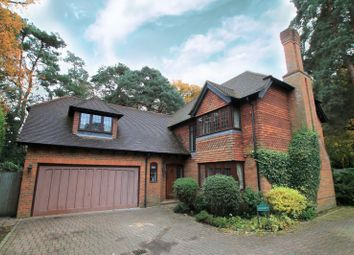Thumbnail 5 bed detached house to rent in Apple Trees Place, Cinder Path, Hook Heath, Woking