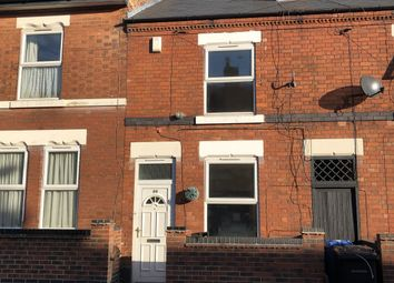 Thumbnail 2 bed terraced house to rent in Balfour Road, Derby