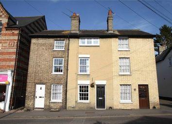 Thumbnail 3 bed terraced house for sale in Debden Road, Saffron Walden, Essex