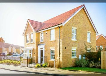 Thumbnail 4 bed detached house to rent in Medforth Street, Market Weighton, York