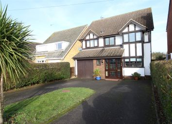 Thumbnail 4 bed detached house for sale in Woodland Road, Rushden