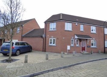 Thumbnail 3 bed semi-detached house for sale in Worle Moor Road, Weston-Super-Mare