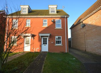 Thumbnail 3 bedroom semi-detached house to rent in Rushton Drive, Carlton Colville, Lowestoft, Suffolk