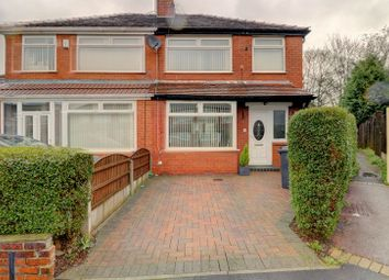 Thumbnail 3 bed semi-detached house for sale in Greenside Crescent, Droylsden, Manchester