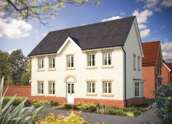 Thumbnail 3 bed end terrace house for sale in Plot 40 - Windlesham, Ribbans Park, Foxhall Road, Ipswich, Suffolk