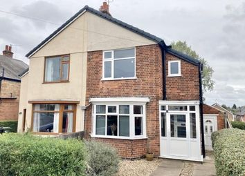 Thumbnail 3 bed semi-detached house for sale in Firfield Avenue, Birstall, Leicester, Leicestershire