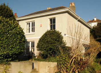 Thumbnail 4 bed detached house for sale in Penrose Villas, Plymouth, Devon
