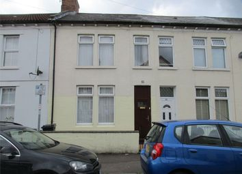 Thumbnail 4 bed terraced house for sale in Radnor Road, Canton, Cardiff