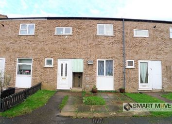 Thumbnail 3 bedroom terraced house for sale in Watergall, Bretton, Peterborough, Cambridgeshire.
