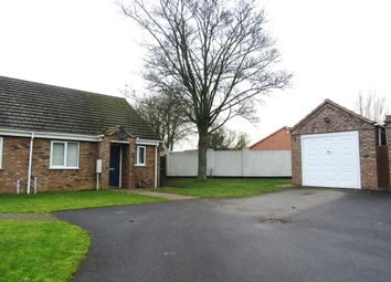 Thumbnail 2 bed semi-detached bungalow to rent in Townsend Way, Metheringham, Lincoln