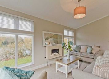 Thumbnail 2 bedroom lodge for sale in Carlton, Saxmundham