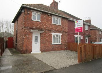Thumbnail 3 bed semi-detached house for sale in Haig Road, Moorends, Doncaster