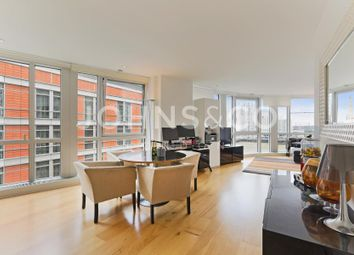 Thumbnail 2 bed flat for sale in Ontario Tower, Fairmont Avenue, London
