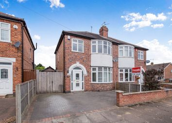 Thumbnail 3 bedroom semi-detached house for sale in Yardley Drive, Leicester
