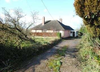 Thumbnail 3 bedroom detached bungalow for sale in Appledene, Church Road, Whimple, Exeter, Devon