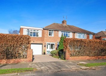 Thumbnail 5 bed semi-detached house for sale in Park Drive, Melton Park, Newcastle Upon Tyne