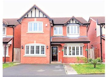 Thumbnail 4 bed detached house for sale in Rimsdale Drive, Manchester