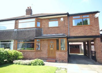 Thumbnail 4 bed semi-detached house for sale in Berkeley Drive, Lowerplace, Rochdale