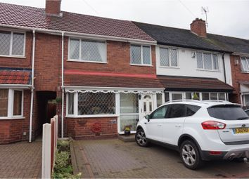 Thumbnail 3 bedroom terraced house for sale in Brackenfield Road, Great Barr, Birmingham