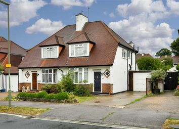 Thumbnail 3 bed semi-detached house for sale in Briarwood Road, Stoneleigh, Surrey