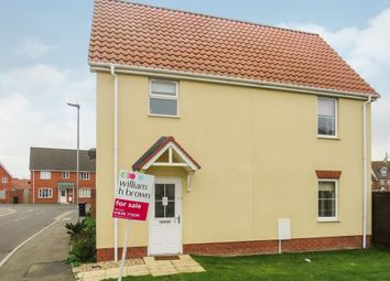 Thumbnail 3 bed detached house for sale in Smoke House View, Beck Row, Bury St. Edmunds