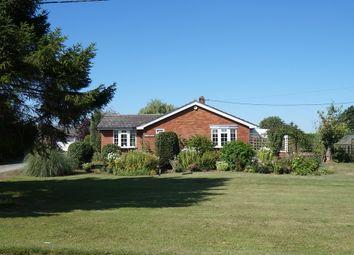 Thumbnail 3 bedroom detached bungalow for sale in Wickhambrook Road, Hargrave, Bury St. Edmunds