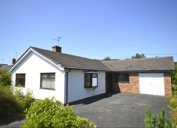 Thumbnail 3 bed bungalow for sale in Rectory Lane, Llanymynech, Powys