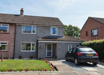 Thumbnail 3 bed semi-detached house for sale in Deepdale Drive, Morton, Carlisle, Cumbria
